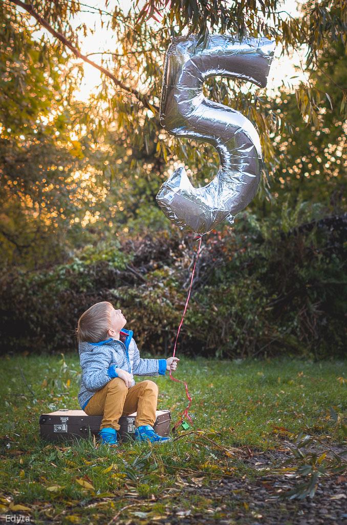 Urodzinowa sesja plenerowa